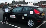 The Preston Driving schools Driving instructor helped Rakeem pass his Driving test