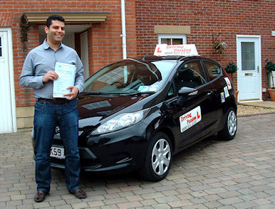 Iyad and this Friendly Driving school in Preston