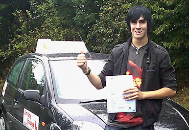 This local Preston Driving schools pupil Karl