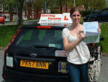 Rachel got a Patient and Supportive Driving instructor in Preston