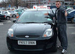 Craig passed his Driving test in Preston