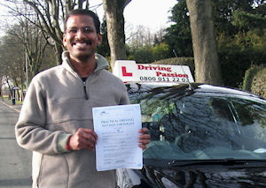 Recommended Preston Driving School by Mathi