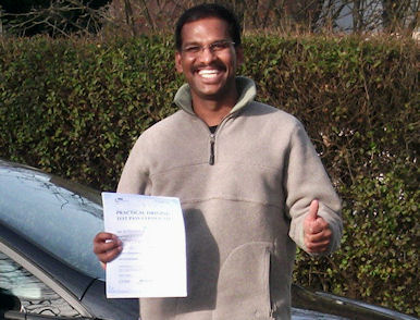 Driving schools Preston Driving instructor gets a big smile from Mathi